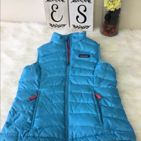 6023b13db 🎀SOLD🎀 Patagonia Girls' Down Sweater Vest